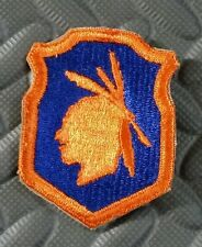 WWII 98th Infantry Division Patch - Iroquois Division - Cut Edge Army Patch