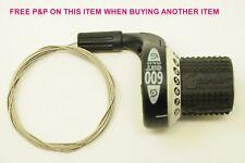 Retro SRAM 8 velocità SRT 600 GripShift BIKE indice Gear Shifter originali anni'90 nn.