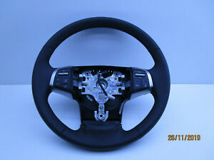 STEERING WHEEL LEATHER WITH BUTTONS TO SUITE HOLDEN COLORADO RG LATE 14-16 GM