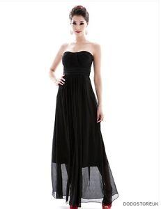 CLEARANCE !!! Hot Evening Dress Chiffon Women's Strapless Long Dress