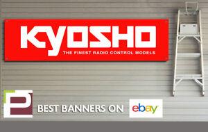 Kyosho Banner for GARAGE or WORKSHOP Remote Control Car, Model car banner