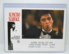 PACINO SCARFACE 1983 LOBBY CARDS SET OF 8 MINI POSTERS 11 x 8 MOVIE MEMORABILIA
