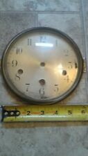 6 inch Westminister Clock Dial Pan, Bezel with Glass B5#32