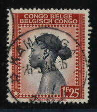 "BELGIAN CONGO BELGE 1945 - CAD TYPE 8 DE ""KAMITUGA"" SUR COB258"