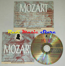 CD MOZART Fantasia k 475 rondo k 382 sinfonia concertante k 297 b lp mc dvd