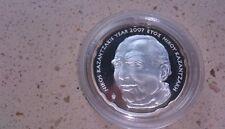 10 EUROS GRECIA 2007   proof sacado de cartera nikos kanzakis