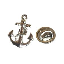 Anchor Sailboat Sailor Lapel Pin Tack Tie