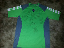Seattle Sounders Signed 2013 Replica Soccer Jersey