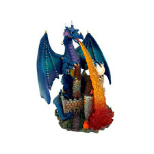 Mythical Fire Breathing Dragon Polyresin