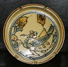 "Vintage 7 1/8""  Ceramic Ashtray - Grasshopper? Japan? Maker Unknown"