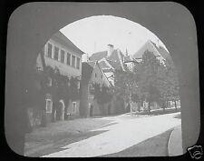 Glass Magic lantern slide ROTHENBURG NO12 C1910  BAVARIA GERMANY