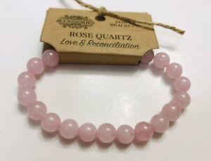 Rose Quartz Beaded Power Bracelet
