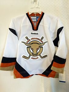 Reebok Youth ECHL Jersey SAN FRANCISCO Bulls Team White sz S/M