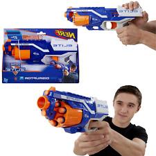 Nerf N-Strike Pistol Blaster 6 Shot Whistler Dart Rapid Fire Gun Rotating Drum