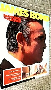 JAMES BOND: DIAMONDS ARE FOREVER (1971) CINEMA FILM MOVIE SOUVENIR BROCHURE