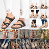 Women Flat Sandals Boho Summer Holiday Beach Toe Post Gypsy Flip Flop Shoes Size