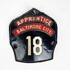 Cairns Baltimore City Station 18 Fireman Firefighter Apprentice Helmet Front