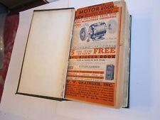 DEALER'S 1935 GRAINGER'S MOTOR CATALOG - MASSIVE BOOK BOUND WITH 15 CATALOGS
