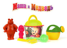 ORIGINAL 7 in 1! Set to play in the sand Masha and the Bear