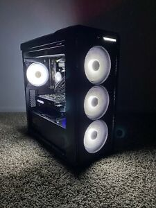 INTEL XEON 10 CORE CUSTOM GAMING PC NVME LIQUID COOLING 4K READY NO GPU READ