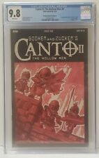 CGC 9.8 Canto ll The Hollow Men #1 IDW Comics - 1:10 Ratio TMNT Homage Cover