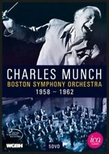 Charles Munch & The Boston Symphony Orchestra 5 DVD Box Set, New DVDs