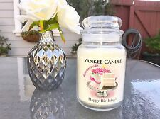 ☆☆HAPPY BIRTHDAY!☆☆ LARGE YANKEE CANDLE JAR ☆ALL YOU NEED IS CAKE!..PARTY SCENT!