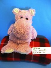 Welby Purple/ Lavender Hippo Warming plush(310-3738)