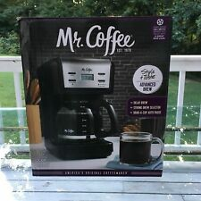 Mr. Coffee 12-Cup Programmable Coffee Maker 2-hour auto shutoff; ; Delay Brew