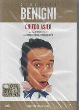 cofanetto+DVD nuovo film *CHIEDO ASILO** con Roberto Benigni nuovo 1979