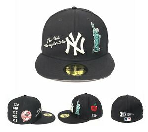 New York Yankees LOCAL CITY Side Patch New Era 59FIFTY Fitted Hat Cap