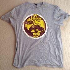 49th Jeep Safari Moab 2015 T-Shirt XL EUC Gray EJS Easter Jeep Safari
