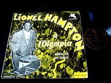 LIONEL HAMPTON/A L'OLYMPIA/VERSAILLES/JAZZ/FRENCH PRESS