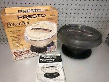 "Presto Power Pop Microwave Multi-Popper Model 04830 ""Orville Redenbacher"""