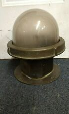Vintage Marine, Bronze And Glass Dome Ship Light! 17 Available! Nautical Antique