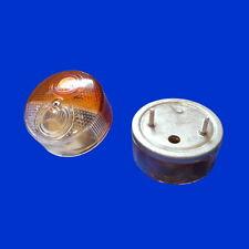 runde Begrenzungsleuchte Standlicht und Blinker D 82mm auf Metallhalter