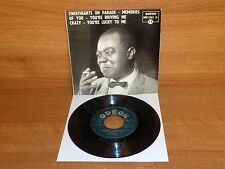 LOUIS ARMSTRONG WITH LES HITES' ORCHESTRA : SWEETHEARTS ON PARADE : MOE 2261