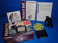 Navegador GPS buen estado Packard Bell Compasseo 300 no actualizado