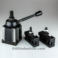 4 Pc Bxa Wedge Tool Post Intro Set Cnc Turningfacing Amp Boring Lathe Holders