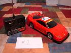 Rare Vintage 1985 Nikko Ferrari F40 RC Radio Controlled Car w/Controller NM