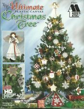 The Ultimate Plastic Canvas Christmas Tree Carole Rodgers Ornaments Angel Skirt