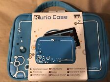 "Kurio Case KD Interactive Blue Travel Bag for 7"" Tablet 2 Accessory Pockets"