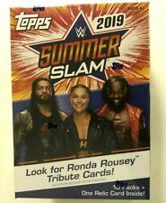 2019 TOPPS WWE SUMMER SLAM BLASTER BOX