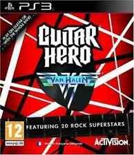 Playstation 3-Guitar Hero Van Halen Solus Ps3 GAME NEW