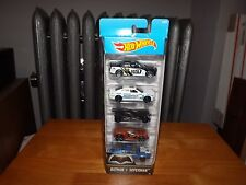 HOT WHEELS, BATMAN V SUPERMAN 5 CAR PACK, NEW IN PACKAGE, 2015