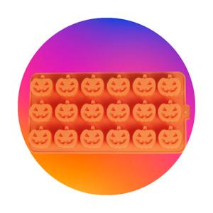 Food Grade Silicone Mould - Halloween Pumpkin