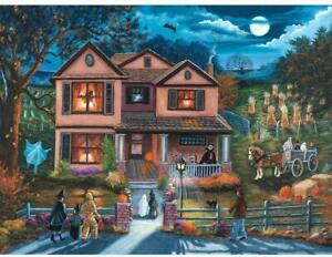 Bits and Pieces - Yesterday's Halloween Haunted House Trick or Treat Jigsaw Puzz