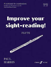 Improve Your Sight-Reading! Flute by Paul Harris - Grades 4 - 5