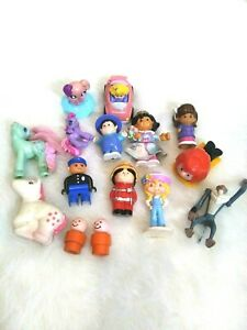 Junk Drawer Toys Little People Little Pony Lion King Charlie Brown Fisher Price