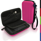 Pink Hard Case Cover Pouch for Portable External Hard Drive 160 x 93.5 x 21.5mm